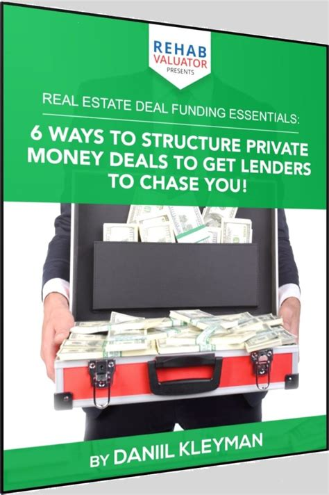 brand new report 6 ways to structure money deals