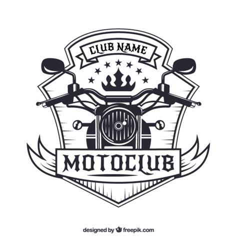 Motorcycle Badge Vector Premium Download Motorcycle Club Logo Template Free