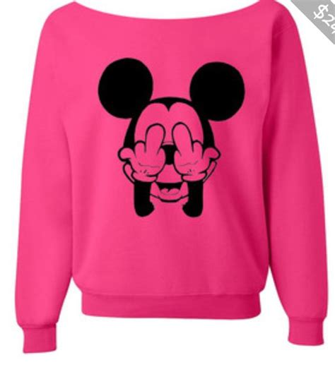 Sweater Mickey Pink t shirt mickey mouse sweater pink wheretoget