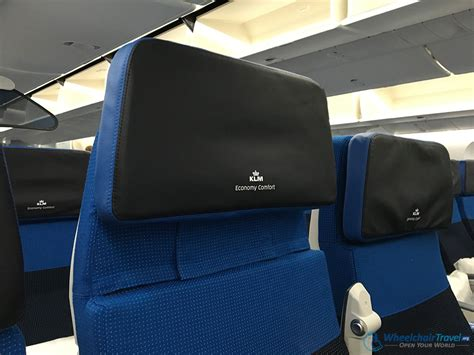 klm upgrade to economy comfort first look klm boeing 787 inaugural flight to bahrain