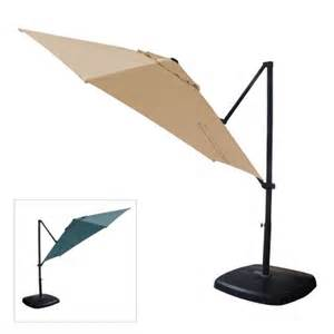 Target Offset Patio Umbrella Garden Winds Replacement Canopy Top For Target 2016 Threshold Umbrella Riplock 350 Walmart
