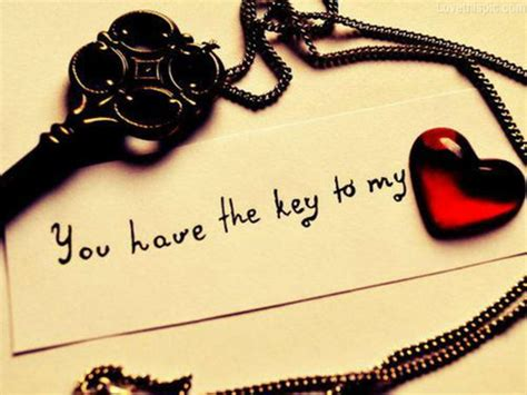 love key themes key to my heart quotes quotesgram
