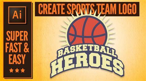 design a team logo illustrator tutorial how to create a sports team logo
