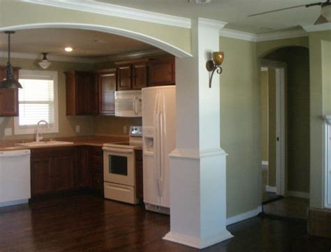 arch between kitchen and living room rental house springdale ar 909 eicher