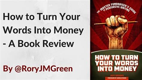 turn your into books guest post how to turn your words into money a book