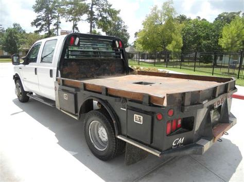 F350 Bed by Find Used 06 F350 Xlt Crew Cab 4x4 Diesel Dually Cm Flat