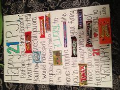 Candy gram Birthday card for the boyfriend   Random