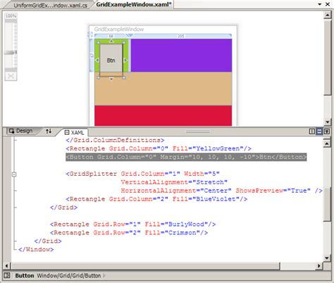xaml layout controls wpf tutorial controls and layout