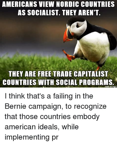 Are They Or Arent They by Americans View Nordic Countries As Socialist They Aren T