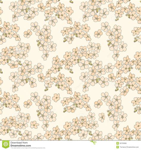 abstract seamless floral pattern background free vector abstract beige floral seamless texture stock vector