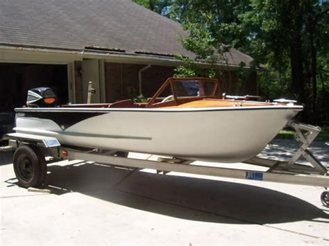 1957 wolverine 16 aluminum boat for sale in wagemaker ladyben classic wooden boats for sale