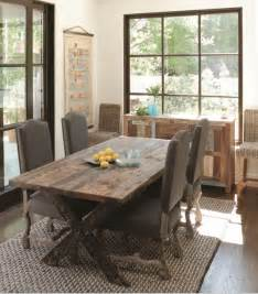 Rustic Dining Room Tables 47 Calm And Airy Rustic Dining Room Designs Digsdigs