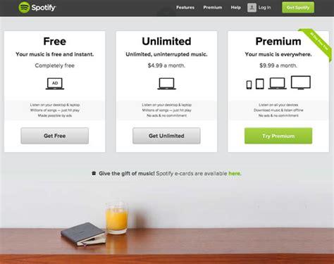 squarespace pricing subscription page ux design 21 exles of pricing pages in web design web design ledger