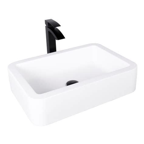what is matte sink vigo navagio matte vessel sink in white with duris