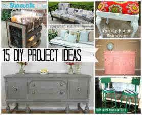 home project ideas the weekly creative roundup 15 great diy projects the