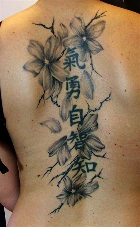 chinese letter tattoo designs blossoms by anderstattoo deviantart