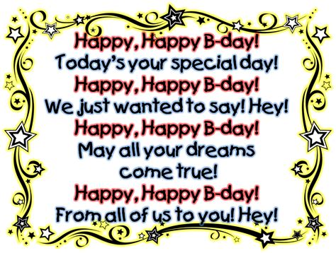 Birthday Song Quotes Happy Song Lyrics Quotes Quotesgram