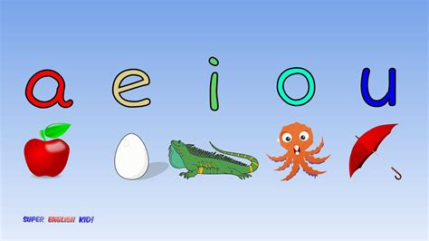 Words With The Letters Aeiou and fast vowel phonics song quot aeiou quot with actions