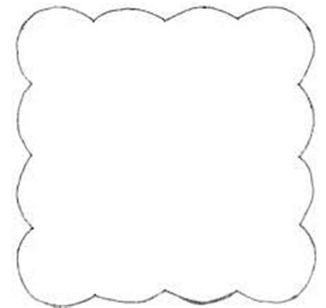 square scalloped banner template diy party planning