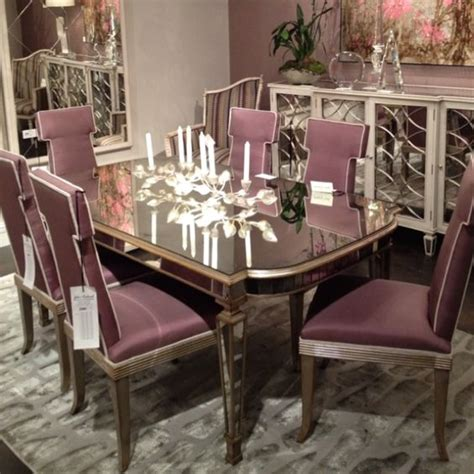 Gold Dining Room Mirrors Richard Antique Mirrored Dining Table Solid Antique