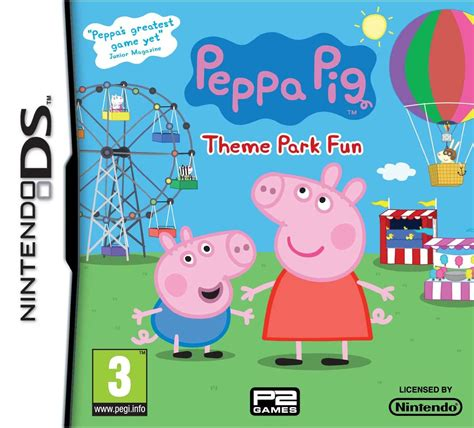 Peppa Pig Amusement Park Zy 667 2 peppa pig theme park ds review any