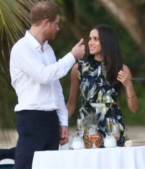 meghan markle and prince harry prince harry spotted in jamaica with actress girlfriend