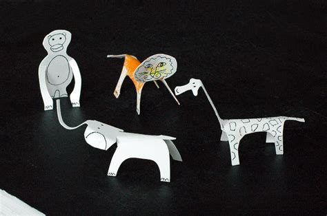 Paper Animals - papercut animals made by joel paper