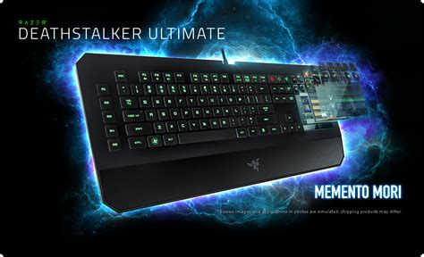 Keyboard Razer Deathstalker Ultimate T1 but this keyboard is not to be sold now and this keyboard