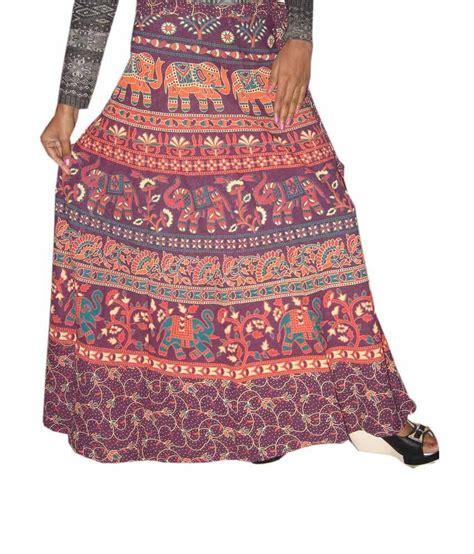 buy odishabazaar womens wrap around skirt elephant