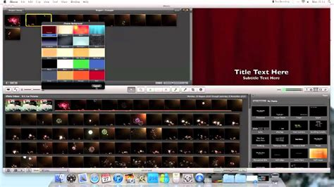 tutorial on imovie imac tutorials how to add subtitles to imovie 11 youtube