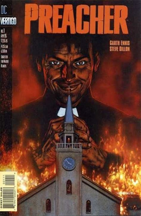 Preacher Comic Book Cover Photos Comic Book Cover Preacher