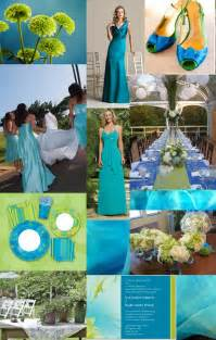 blue and green wedding colors weddingzilla blue green turquoise wedding inspiration board