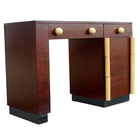 Vanity Cavaliers midcentury retro style modern architectural vintage furniture from metroretro and mcm consignment