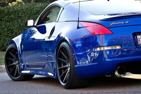 blue nissan 350z with black rims 20 quot rohana rc10 black concave wheels rims fits bmw e63 e64