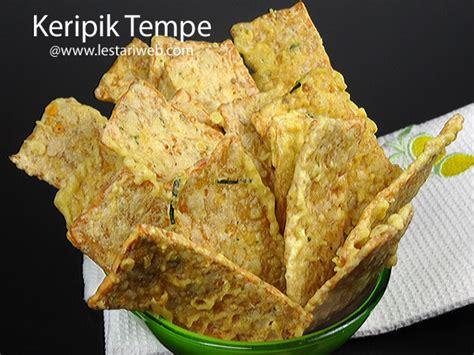 Keripik Tempe By Jajanan Malang kumpulan resep asli indonesia keripik tempe