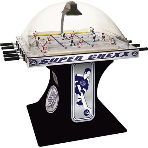 chexx non coin deluxe home hockey table