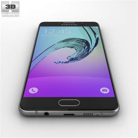 3d Samsung A7 2016 samsung galaxy a7 2016 black 3d model humster3d