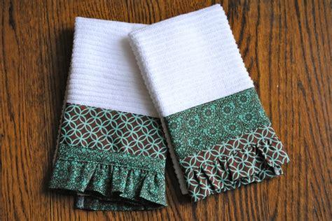 kitchen towel craft ideas kitchen towels crafts i ve made