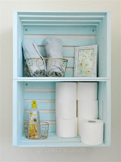 Craft Ideas For Bathroom Walls 25 Best Ideas About Crate Storage On Pinterest Desk Ideas Cool Desk Ideas And Desk