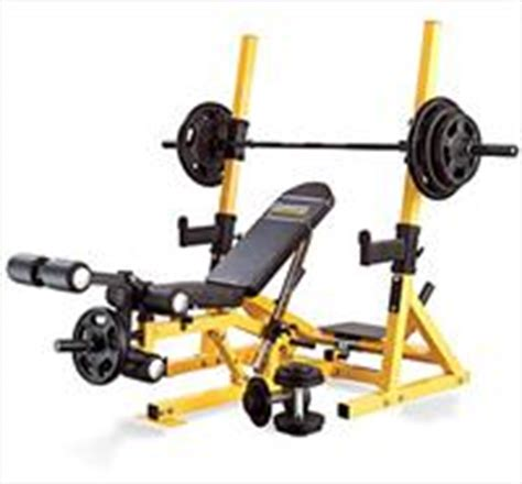 yellow weight bench powertec 3in1 workbench rack system yellow review