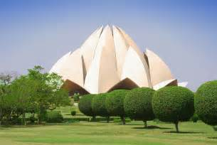 Bahai Lotus Temple Image Of Lotus Temple Delhi My India