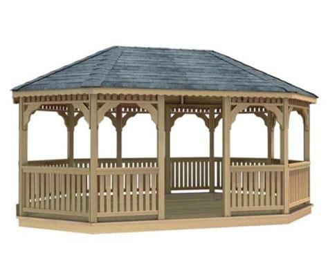 12 x 24 cedar oval gazebo best patio furniture reviews
