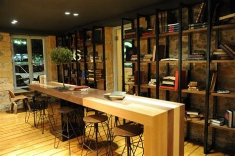 coffee shop interior design book cafe interior would also be a very cool work or home