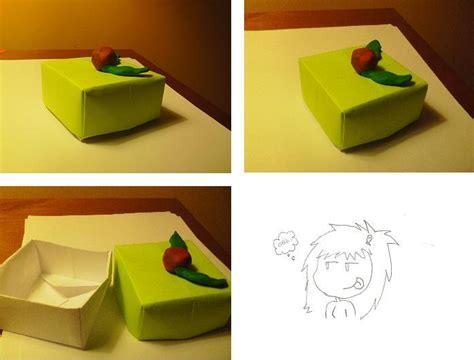 Origami Cake Box - origami cake box by ravenheart628 on deviantart