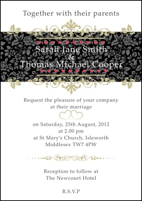 wedding invitation format for whatsapp wedding invitation for whatsapp yaseen for