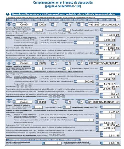 formulario para declaracion de renta en el salvador 191 como declarar alquiler piso alquiler y hacienda