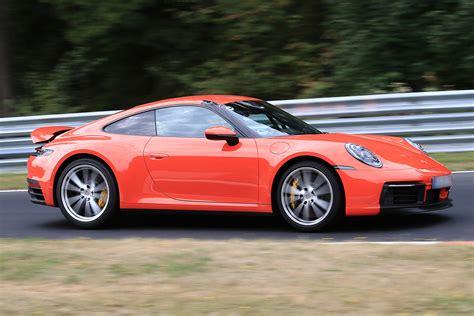 2019 New Porsche 911 by New 2019 Porsche 911 Spied On Track Auto Express