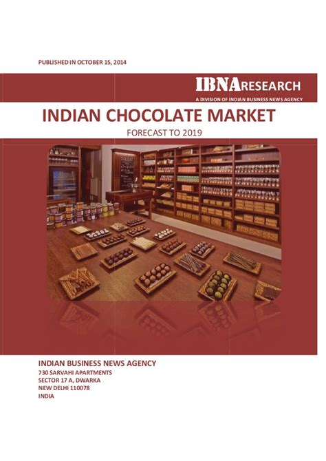 Mba Chocolate Industry In India Beautiful Project by Indian Chocolate Market Forecast To 2019