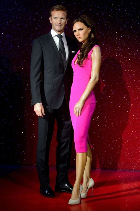 And Now The Waxy Beckhams by 111 Best Madame Tussauds Images On