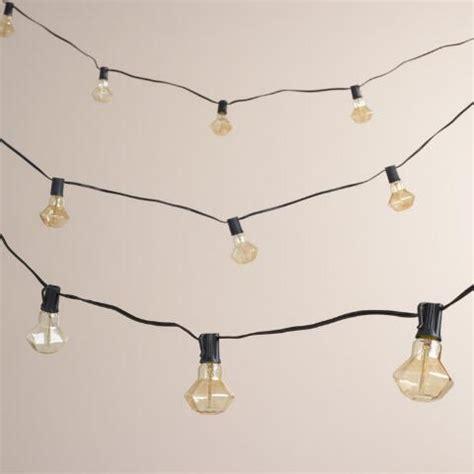 Diamond Filament 10 Bulb String Lights World Market Filament Bulb String Lights
